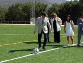 Más de 500.000 futbolistas se han beneficiado del programa 'Campos Verdes'