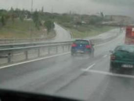 Alerta en Madrid por fuertes lluvias