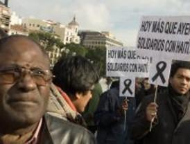 La comunidad haitiana pide que llegue la ayuda a su país