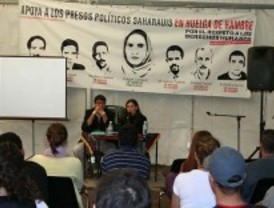 Huelga de hambre en apoyo a presos saharahuis