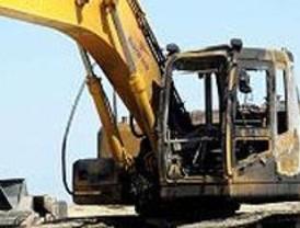 Quince detenidos por robar excavadoras de obras