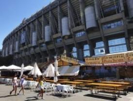 Cerveza alemana y jamón ibérico, en el Bernabéu