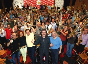 300 músicos se unen en concierto para reivindicar el valor de la música