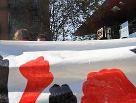 La marcha 'indignada' contra el capitalismo toma Madrid