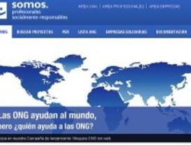 Una web ayuda a las ONG a mejorar su gestión gracias a las nuevas tecnologías