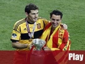 Casillas y Xavi, Premio Príncipe de Asturias de los Deportes
