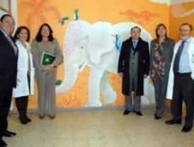 Arte terapéutico en el hospital La Paz