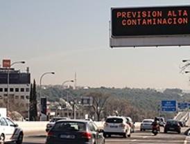 El mismo tráfico pese a la recomendación de no usar el coche por la contaminación