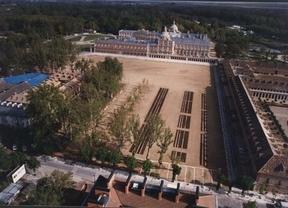 Plaza parejas en Aranjuez