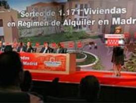 La Comunidad sortea casi 1.200 pisos protegidos en alquiler en Madrid