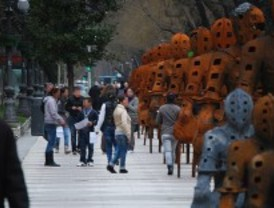 Los 'falsos sordomudos' invaden la Puerta de Alcalá