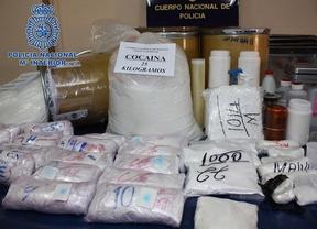 La Policía Nacional desmantela un laboratorio de cocaína