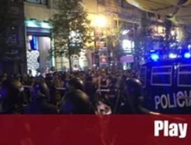 La protesta vuelve a inundar el centro