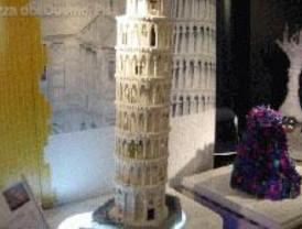Concurso de tartas hechas con piezas de Lego en los Toys'r'Us