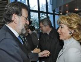 Gallardón, alcalde, y Aguirre, presidenta