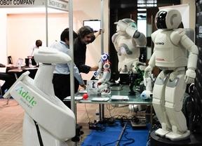 Los robots invaden la capital en 'Humanoids 2014'