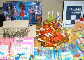 Inmovilizados 10.000 juguetes peligrosos