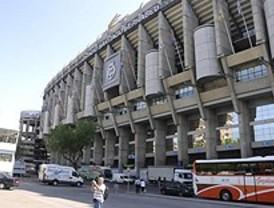 Prohibido aparcar en los entornos del Bernabeu y el Calderón