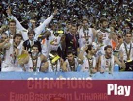 España desmonta a Francia en la final del Eurobasket