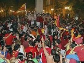 Un muerto y 120 heridos en la celebración del triunfo español