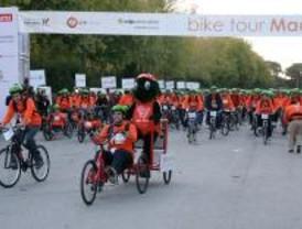 El 'Bike Tour' reúne a más de 8.000 ciclistas