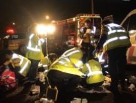 Un hombre indocumentado y un motorista fallecen este domingo