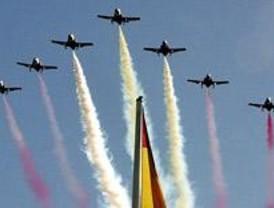Aeronaves militares ensayarán el miércoles para el Día de la Hispanidad