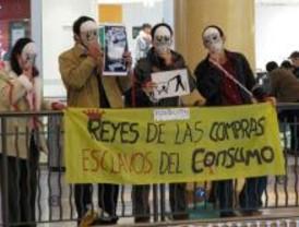 Protestas en Xanadú ante el consumo navideño desmedido