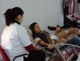 La campaña de colecta de sangre recorre la región