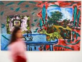 'Viaje a lo desconocido' de la mano del pintor Juan Ugalde