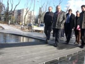 Alcorcón inaugura el parque de la calle Polvoranca, que contribuye a la mejora del entorno urbano