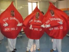 El Hospital 12 de Octubre recoge 55 litros de sangre