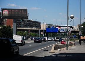 Soterrar el tramo de la M-30 bajo el Calderón costará entre 80 y 150 millones