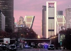 Una falsa alarma de bomba colapsa el centro de Madrid