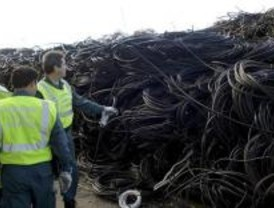 Detenidas 55 personas por robar más de 20 toneladas de cable de cobre