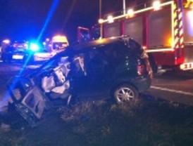 Varios heridos al colisionar dos coches en Leganés