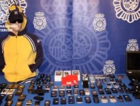 Desarticulada una banda que robaba en tiendas de telefonía