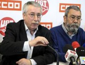 Manifestación en Madrid contra los excesivos despidos laborales