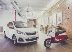 Peugeot 108 y Django, los reyes de la ciudad