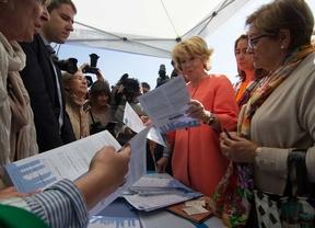 Aguirre niega enfrentamientos en el PP