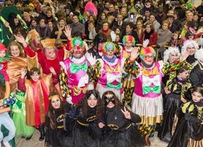 Los 'peques' de Getafe disfrutaron del 'Carnavalito 2015'