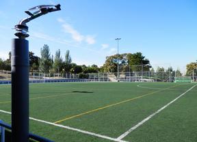 Reabre el campo de fútbol del parque Rodríguez Sahagún