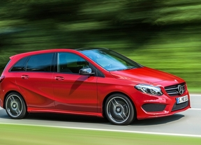Mercedes Clase B, enchufado al futuro