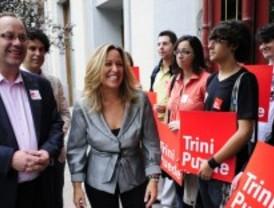 Trinidad Jiménez velará por sus partidarios