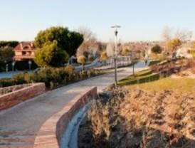 Pozuelo estrena el nuevo parque Eje de Carlos III, ubicado en la zona de la Estación