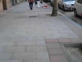 Terminan cuatro obras peatonales