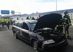 Herido grave un hombre tras dar varias vueltas de campana con su coche