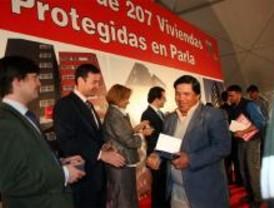 La Comunidad entrega 207 pisos protegidos de alquiler el Parla