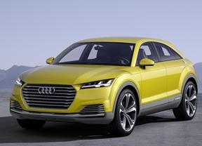 Audi TT Offroad Concept, entre coupé deportivo y SUV compacto