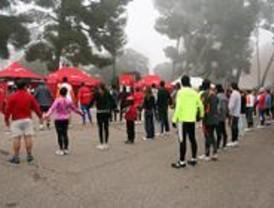Un centenar de atletas prepara en el Retiro la San Silvestre Vallecana